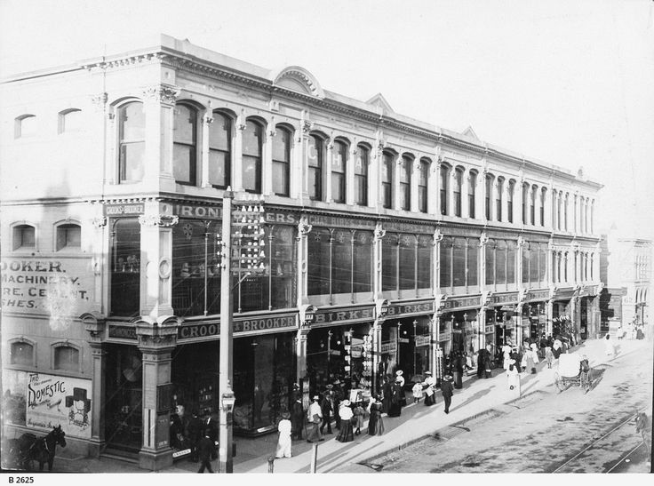 Birks' Department Store, Rundle Street, north side between Stephens and Gawler Place, c.1900