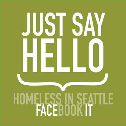 Did you know that Homeless in Seattle is on Twitter?!?!   To hear conversations and connections from the street follow us at https://twitter.com/HomelessSeattle.   Fremont 2/3/2014