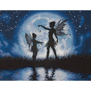Twilight Silhouette Counted Cross Stitch Kit-14