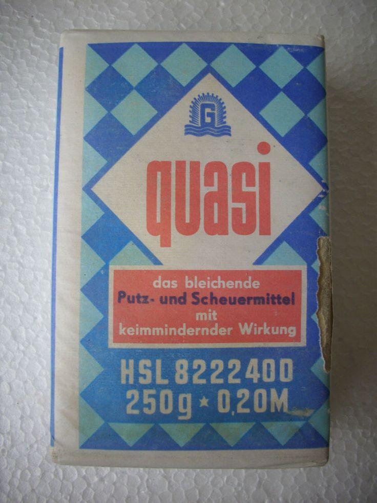 DDR Ostalgie quasi Putz und Scheuermittel