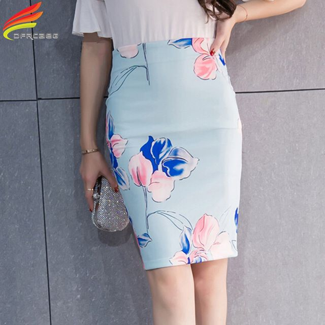 Buy now New 2017 Spring Vintage Froal Print Pencil Skirts For Women Plus Size Bodycon Midi Skirt Casual Saia Midi Femme Faldas Mujer just only $10.85 with free shipping worldwide  #womanskirts Plese click on picture to see our special price for you