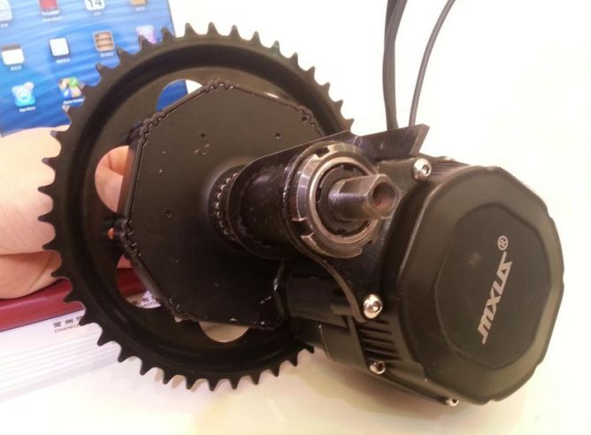 INTERESTING SITE 10 MID DRIVE KIT FOR DIY ELECTRIC BIKES