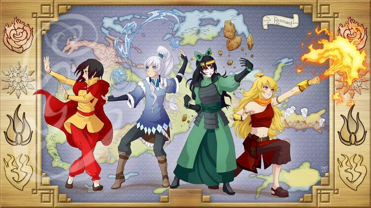 Dustbenders: The Legend of RWBY by TheRogueSPiDER on DeviantArt