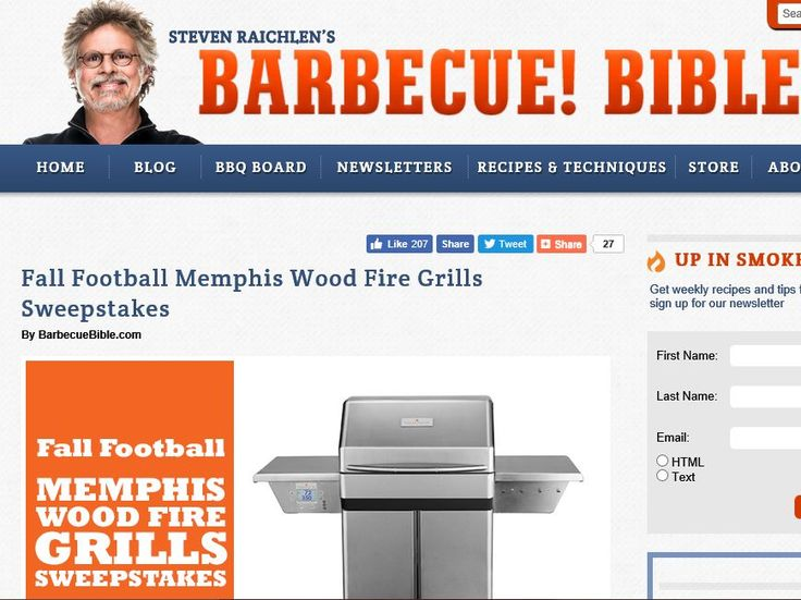 Enter the Fall Football Memphis Grill Sweepstakes for a chance to win a 2016 Memphis Grills Memphis Pro!