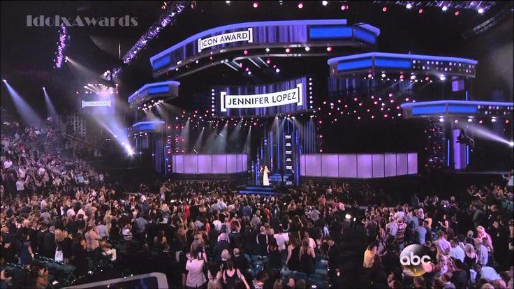 Jennifer Lopez - Performs First Love & Accepts Icon Award - Billboard Award 2014