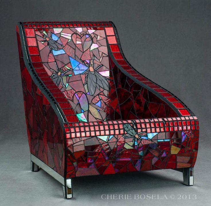 Mosaic chair -  Scan Design