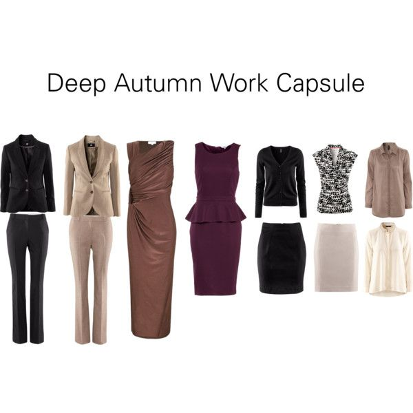 """Deep Autumn Work Capsule"" by katestevens on Polyvore  find jewelry to go with outfits at Heartfelt Treasures click on roxann7-.kitsylane.com free scarf with $50 purchase until the end of Oct. 2013"