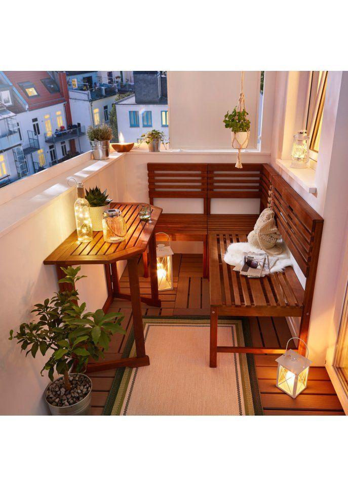 groß Tung Balkon Lounge (4er Set)