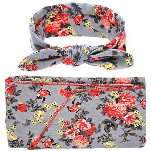 ROSENICE Bambino sacchi un pelo Swaddle Wrap emmailloter couverture sac le orecchie di coniglio Bowknot archetto Set(Grey): Tweet…