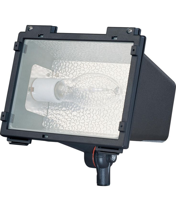 """Architectural 9"""" 1 Light Outdoor Outdoor Flood Light in Architectural Bronze"""