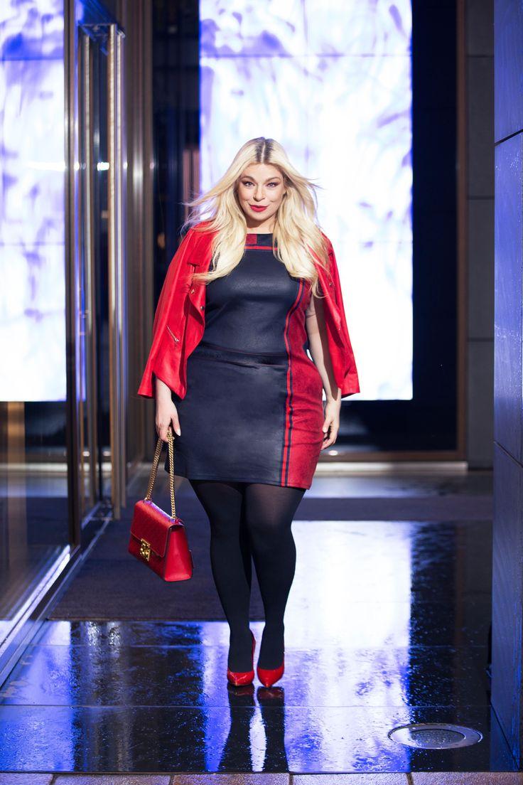 Plus-Size-Fashion:Paprika   Plus size kleidung, Modestil ...