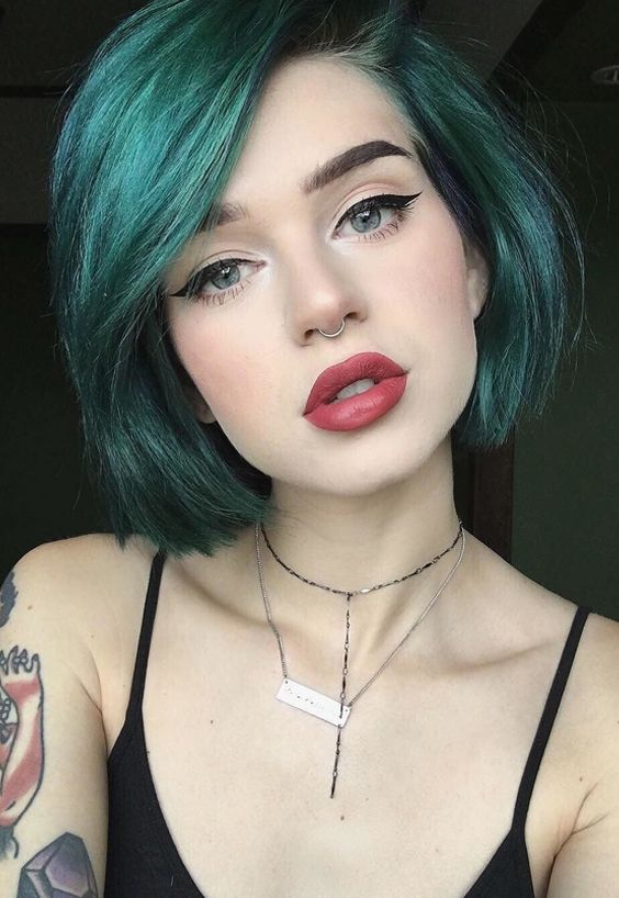 beautiful unique hair color