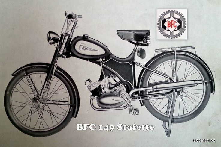 BFC 149 Stafette (Herre model) #BFC #Stafette #moped #knallerter…