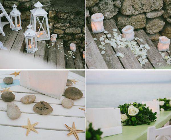Wedding reception at the beach! http://www.love4weddings.gr/wedding-in-halkidiki/ #chalkidikiweddings