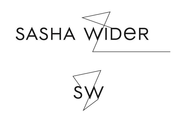 Letterhead | Sasha Wider | Fashion Designer Logo by Valery Golyzhenkov