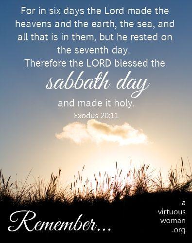 80 best Sabbath images on Pinterest