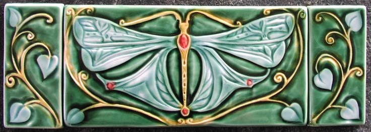 Dragonfly Tile Triptych