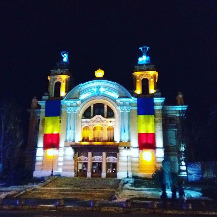 Romanian National Opera by night. #Cluj #Transilvania #Klausenburg #Siebenbürgen #Romania