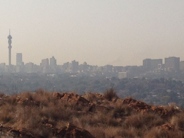 Joburg from melville koppies