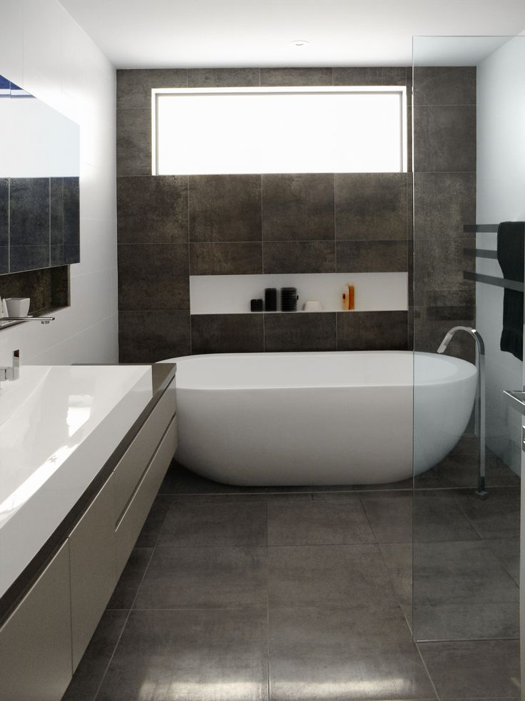 25 Best Ideas About Grey Bathrooms Designs On Pinterest Grey Bathrooms Inspiration Bathrooms And Bathroom Flooring