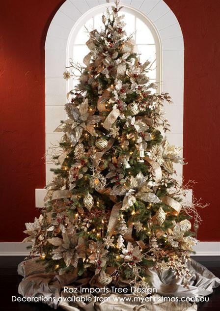 Raz Imports 2014 Christmas Tree Designs - Part 1