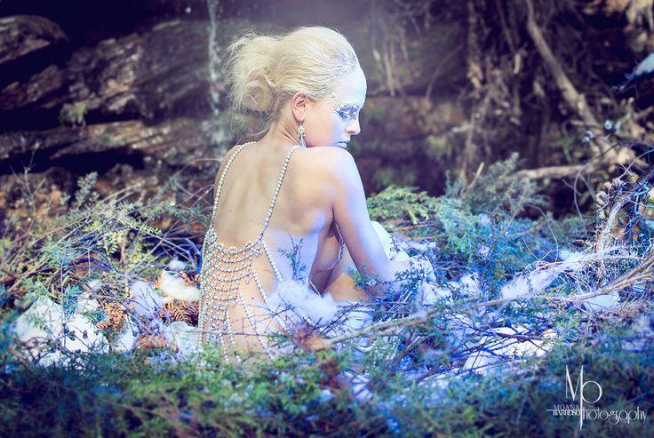 Angel's Wings. Photography: Moana Barroso HMUA & BodyArt: Angie Y Model: Tiffany Winteler Design: Tarese Klemens Jewellery: Nikki Stevens Designs