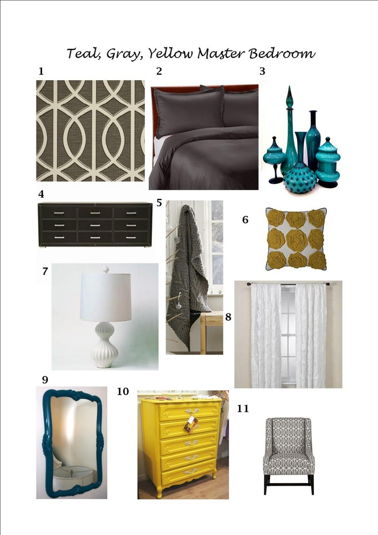 Yellow Master Bedroom Decorating Ideas: Best 25+ Teal Yellow Ideas On Pinterest