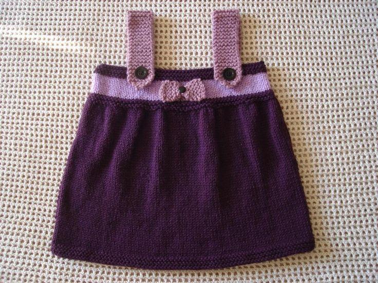 As 25 melhores ideias sobre beb s croch e tric no for Jardineira infantil c a