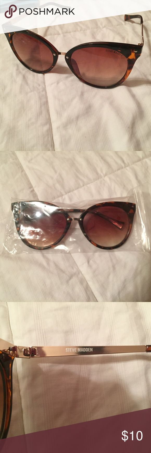 Brand new Steve Madden sunglasses Brand new cat eyed sunglasses Steve Madden Accessories Sunglasses