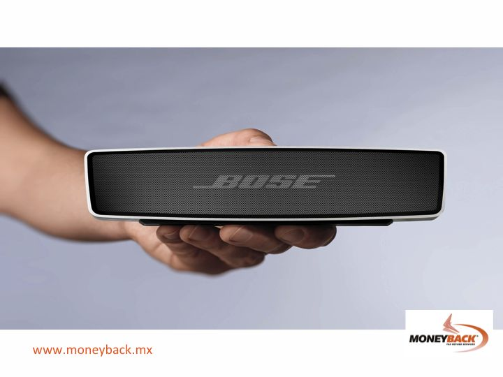 #moneyback  #taxrefund #travelmexico MONEYBACK. TAX REFUND FOR TOURISTS IN MEXICO. The way Bose designs its speakers and music systems is based on the belief that audio products exist to offer a natural sound everywhere and to everyone, and that is the sound what matters the most, and not the equipment.