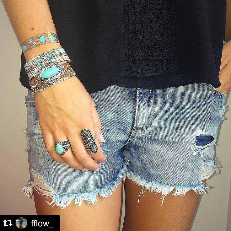 Bonne journée ! #Repost de @fflow_ #OOTD  Essai #tattoo Eyota avec une manchette #Hipanema www.ethnikk.com Dernier jour ! -20% avec le code promo rentree15 dès 2 planches achetées. #jewel #bracelet #hipanemabracelet #bohostyle #Outfitoftheday #igers #girl #flashtattoo #goldtattoo #pligat #planeteig08 #mode #tendance