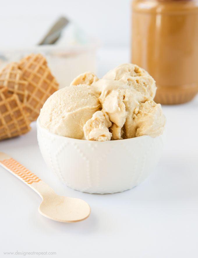 Homemade Peanut Butter Gelato!