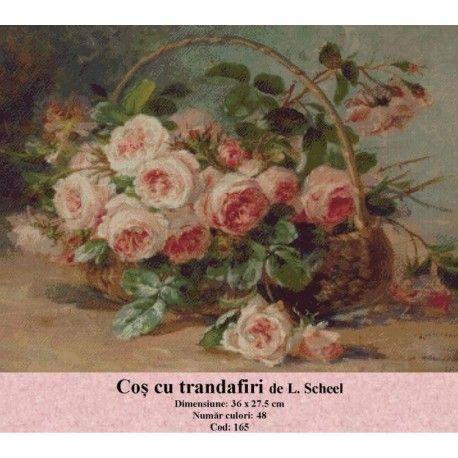 Vanzari set goblen Cos cu trandafiri de L. Scheel http://set-goblen.ro/flori/3443-cos-cu-trandafiri-de-l-scheel.html