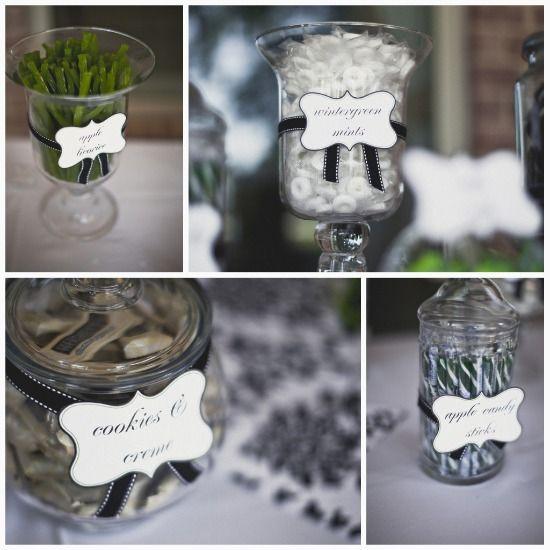Diy Wedding Reception Buffet Ideas: Diy Wedding Reception, Candy