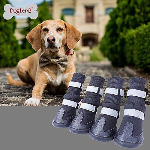 Doglemi Reflecting All Weather Waterproof Dog Boots Pet S... https://www.amazon.com/dp/B0196FHJEE/ref=cm_sw_r_pi_dp_x_phG.xb7NY1K4R