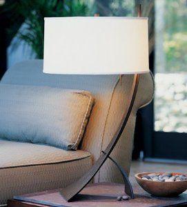 Amazon.com: Hubbardton Forge 27-2666-10-297 Stasis Table Lamp: Lamps & Light Fixtures
