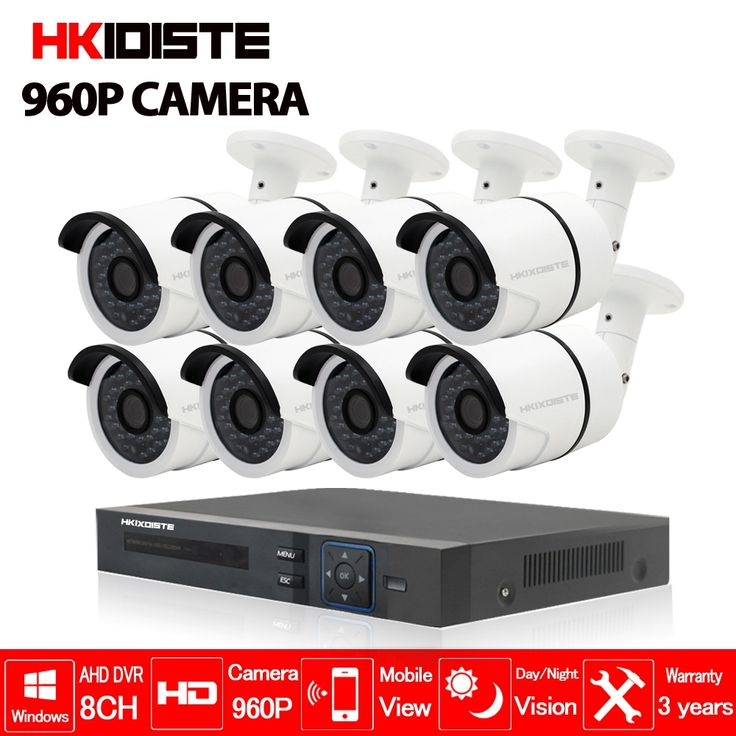 (223.19$)  Watch here - http://ai6az.worlditems.win/all/product.php?id=32800291019 - AHD CCTV System 1.3 MP 960P Day Night IR 8 Cameras High Definition Video Surveillance 8CH 1080N 1080P 5 In 1 AHD DVR CCTV System