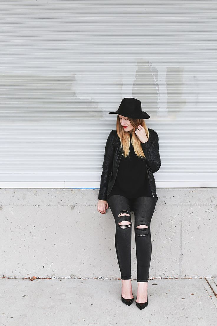 "Girl & Closet ""Black Is Never Boring"" (life + style blog)"
