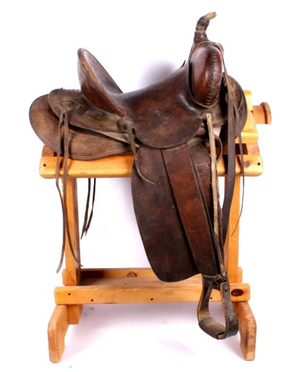 1912 Saddle by Hamley, Pendleton, Oregon.