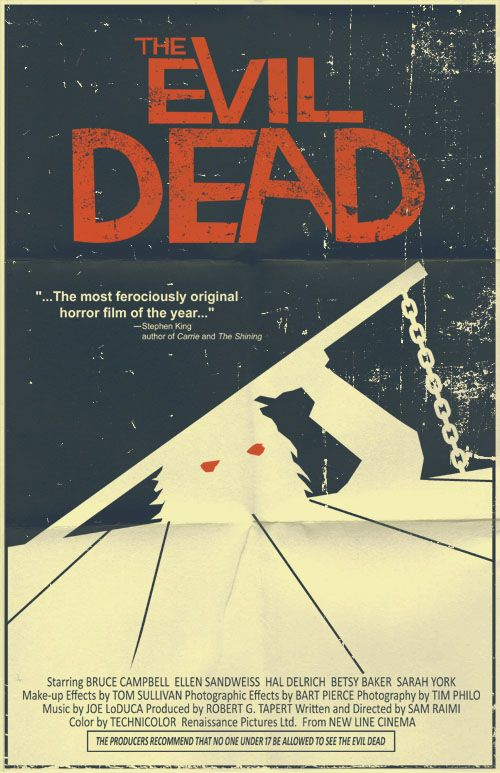 the evil dead poster by markwelser d2yff8z pic on Design You Trust