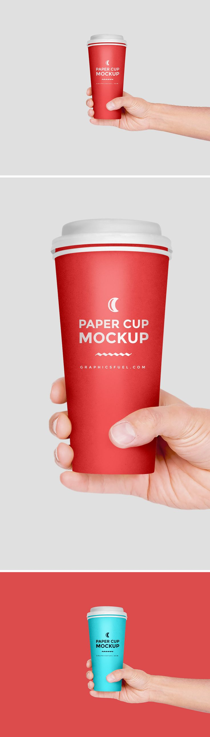 Free Paper Cup In Hand Mockup PSD (6.16 MB) | Graohics Fuel | #free #photoshop #mockup #psd #paper #cup #hand
