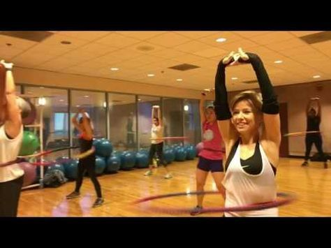 """""""LEFT RIGHT"""" Inna - Weighted Hula Hoop Workout Valeo Club - YouTube"""