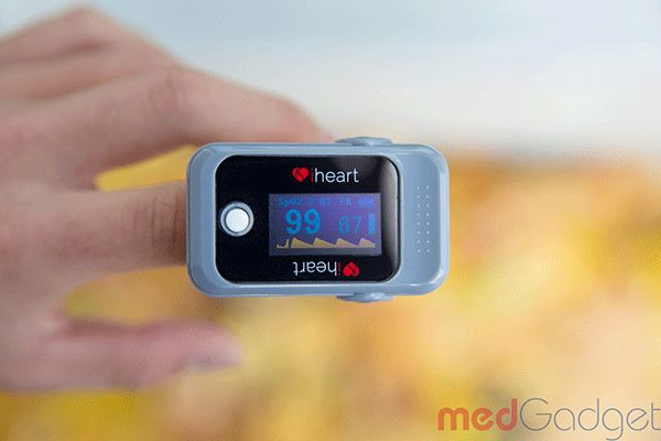 Ateamfrom Toronto has created a modified pulse oximeter that can purportedlypredict your physiological age by reading how your heart beats pulse through
