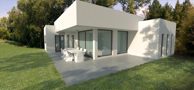 90 best images about casas prefabricadas de acero y hormigon on pinterest house guadalajara - Casa prefabricada diseno ...