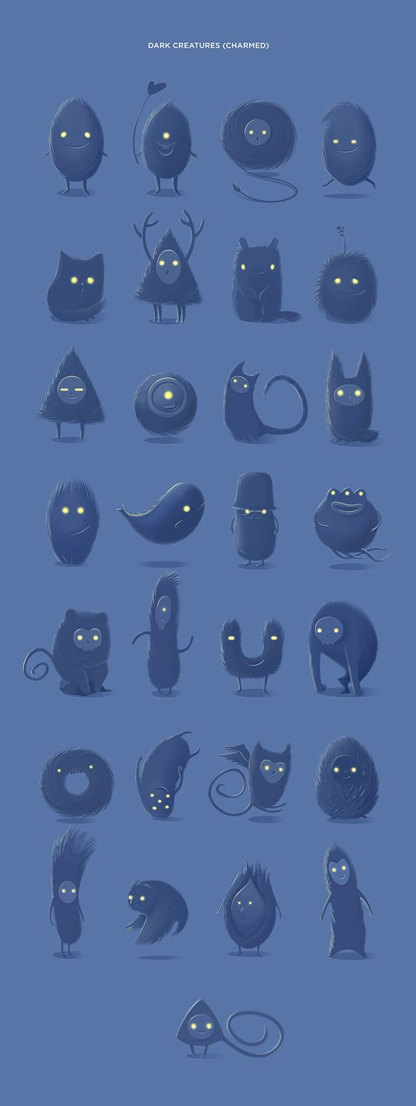 Illustrative characters