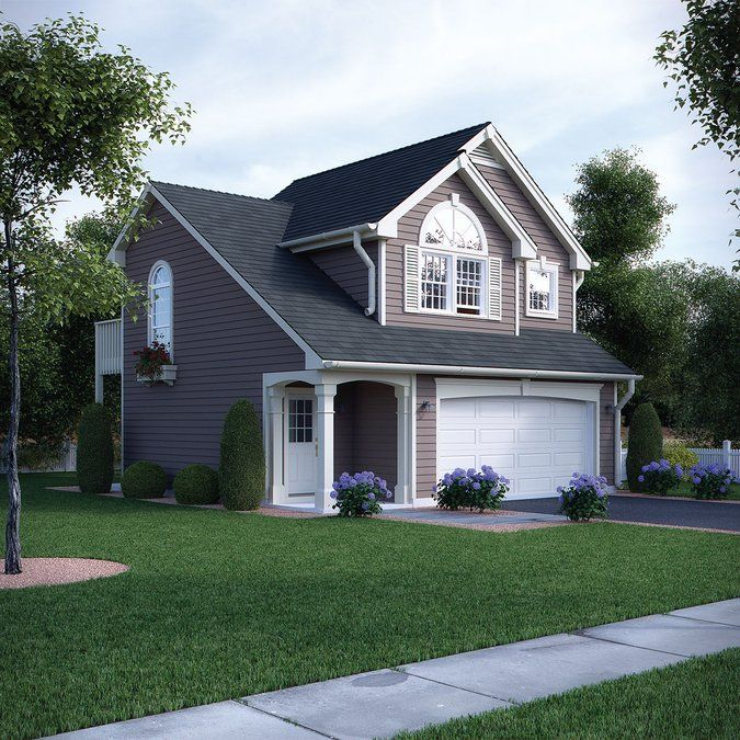 25 best ideas about one bedroom house on pinterest one - Two bedroom garage apartment plans ...