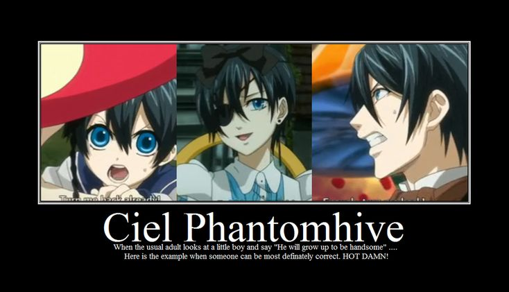 yup. I love the adult version of Ciel.....too bad he will; never grow up to be like that...*tear*
