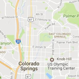 Best Colorado Springs Map Ideas On Pinterest Colorado - Colorado springs on us map