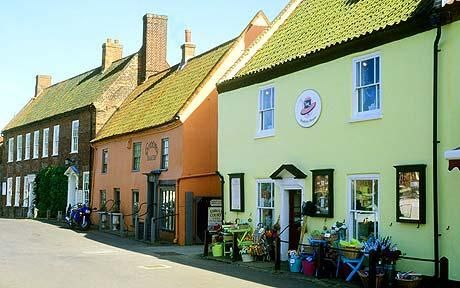Beautiful Burnham Market in North Norfolk.