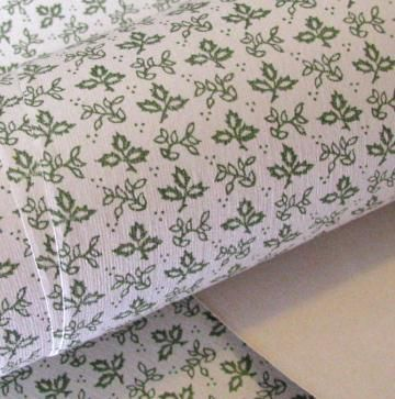 Schumacher Classic 3-Feet Continuous 1970 Wall Paper In Leafy Sage Green by PetitPoulailler for $19.85